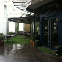 Photo taken at Thonglor Town Center by Kittachaya P. on 3/17/2011