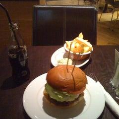 Photo taken at Gourmet Burger Kitchen by Jiri K. on 10/8/2011