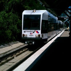 Photo taken at NJT - Port Imperial Light Rail Station by James M. on 8/30/2011