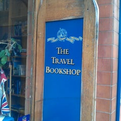 Photo taken at The Travel Bookshop by Edwin N. on 8/26/2011