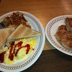 Photo taken at Waffle House by Richard C. on 3/19/2012
