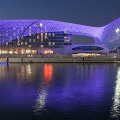 Photo taken at Yas Viceroy by Алексей К. on 4/28/2012