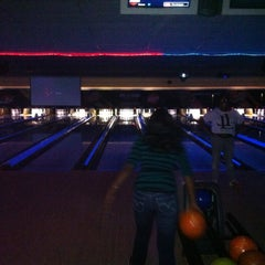 Photo taken at AMF All Star Lanes-Greensboro by Tristan S. on 4/1/2012