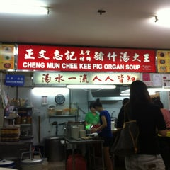 Photo taken at Cheng Mun Chee Kee Pig Organ Soup 正文志记 by Vic T. on 5/30/2012