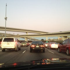 Photo taken at Spaghetti Junction (Tom Moreland Interchange) by Ro C. on 11/23/2011