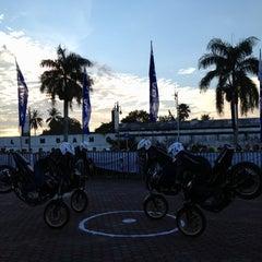 Photo taken at Benteng Kuto Besak by Chandra P. on 6/2/2012