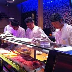 Photo taken at Xaga Sushi & Asian Fusion by Gustavo C. on 2/15/2012