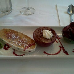 Photo taken at Mon Petit Café by Siyun F. on 7/15/2012