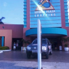 Photo taken at Litoral Plaza Shopping by Matheus P. on 4/1/2012