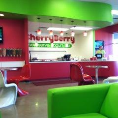 Photo taken at CherryBerry Yogurt Bar by Ben S. on 10/17/2011