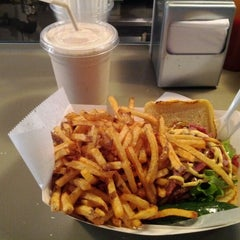 Photo taken at Mikey's Burger by Tony C. on 12/30/2011