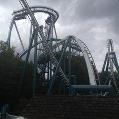 Photo taken at Alpengeist - Busch Gardens by Timothy on 6/14/2012