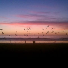 Photo taken at Cardiff State Beach by Chris H. on 1/9/2012