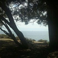 Photo taken at El Capitan State Beach by Fernando S. on 7/14/2011