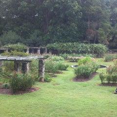 Photo taken at Raleigh Rose Garden by @ExploreRaleigh on 9/17/2011