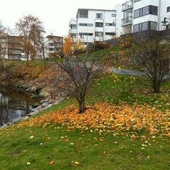 Photo taken at Gåshaga Marina by Jg on 11/19/2011
