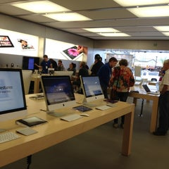 Photo taken at Apple Store, The Promenade Shops at Briargate by Denny B. on 5/2/2012