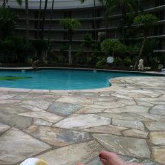 Photo taken at Ocean Tower Pool by Katherine G. on 3/29/2012