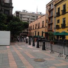 Photo taken at Antigua Sede del Senado de la República by Jose S. on 7/2/2012