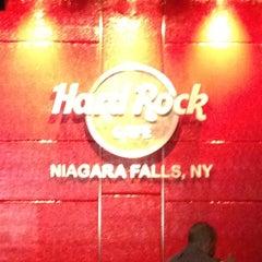 Photo taken at Hard Rock Cafe Niagara Falls USA by Ralph R. on 4/25/2012