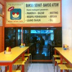 "Photo taken at Bakso Sehat Bakso Atom ""Depok Beji"" by Sis V. on 4/29/2012"