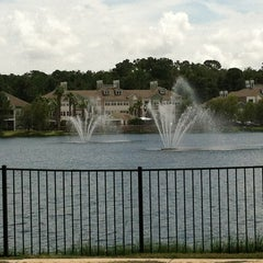 Photo taken at Lake outside of Publix by Maurice W. on 8/31/2012