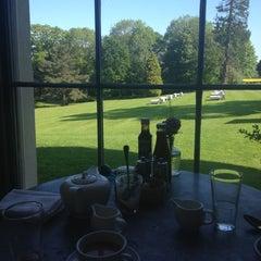 Photo taken at Babington House by Jonesie B. on 5/26/2012