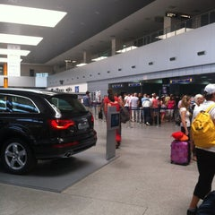 "Photo taken at Cluj-Napoca ""Avram Iancu"" International Airport (CLJ) by Gleiber R. on 8/21/2012"