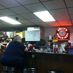 Photo taken at Kellys Big Burger by Adam F. on 6/16/2012