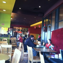 Photo taken at Flying Star Café by Becky S. on 2/11/2012