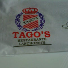 Photo taken at Tago's Restaurante e Lanchonete by Marianna S. on 7/26/2012