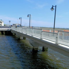 Photo taken at Ocean City Fishing Pier by Michele Marie B. on 5/27/2012