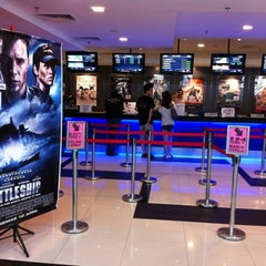 Photo taken at Golden Screen Cinemas (GSC) by littleredzs on 4/13/2012