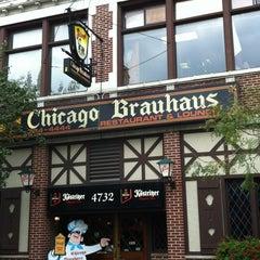 Photo taken at Chicago Brauhaus by Marcella on 9/7/2012