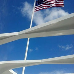 Photo taken at USS Arizona Memorial by Shawn D. on 4/19/2012