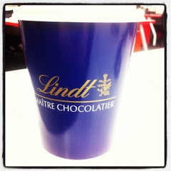 Photo taken at Lindt Chocolate Cafe by Kupcake W. on 7/7/2012