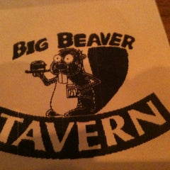Photo taken at Big Beaver Tavern by Kendra D. on 4/5/2012