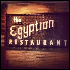 Photo taken at Campisi's Egyptian Lounge by Sean M. on 9/3/2012