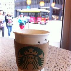 Photo taken at Starbucks by Esther B. on 4/28/2012