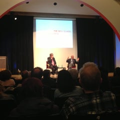 Photo taken at The New School Auditorium at 66W 12th by Ben P. on 4/4/2013
