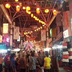 Photo taken at Petaling St. (茨厂街 Chinatown) by chief i. on 6/22/2013