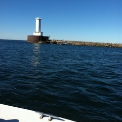 Photo taken at Lake Erie by Lacey G. on 9/17/2013
