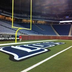 Photo taken at Ford Field by Huong F. on 10/5/2012