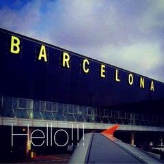 Photo taken at Aeroport de Barcelona-El Prat (BCN) by Bird B. on 7/6/2013