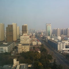 Photo taken at Ramada Plaza Caohejing Shanghai by Roberto Z. on 2/14/2015