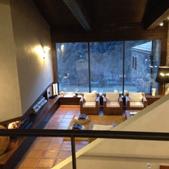 Photo taken at Hotel Resguard dels Vents by 3viajes on 2/5/2014