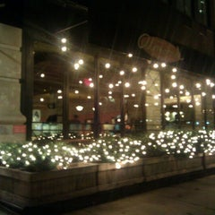 Photo taken at Almond by Abby D. on 11/28/2012