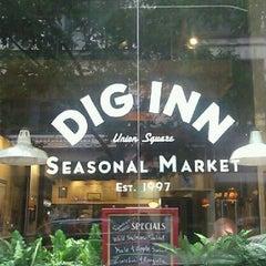 Photo taken at Dig Inn Seasonal Market by Abby D. on 9/28/2012