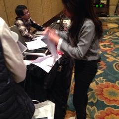 Photo taken at Shangri-la Hotel by Magara F. on 12/1/2014