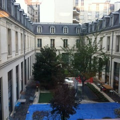 Photo taken at Google France by Laura C. on 10/29/2012